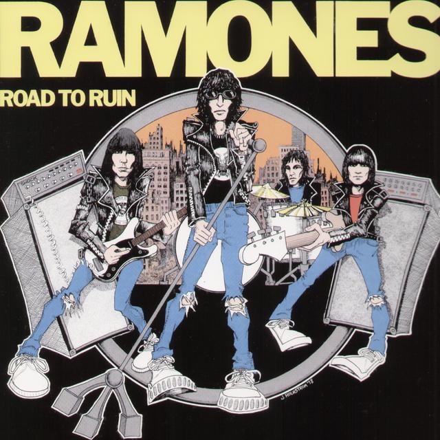 Ramones ROAD TO RUIN Vinyl Record
