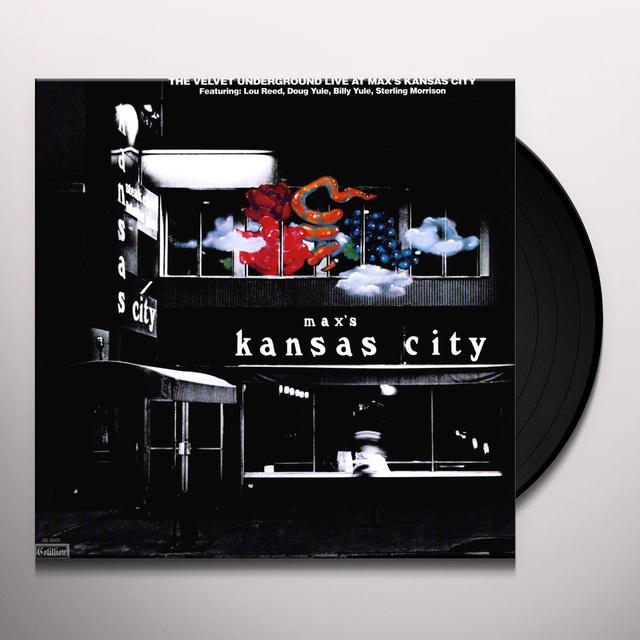 Velvet Underground LIVE AT MAX'S KANSAS CITY Vinyl Record