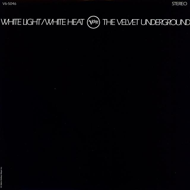Velvet Underground WHITE LIGHT / WHITE HEAT Vinyl Record
