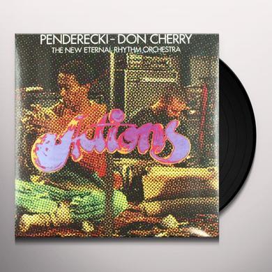 Don / Krzysztof Penderecki Cherry ACTIONS Vinyl Record