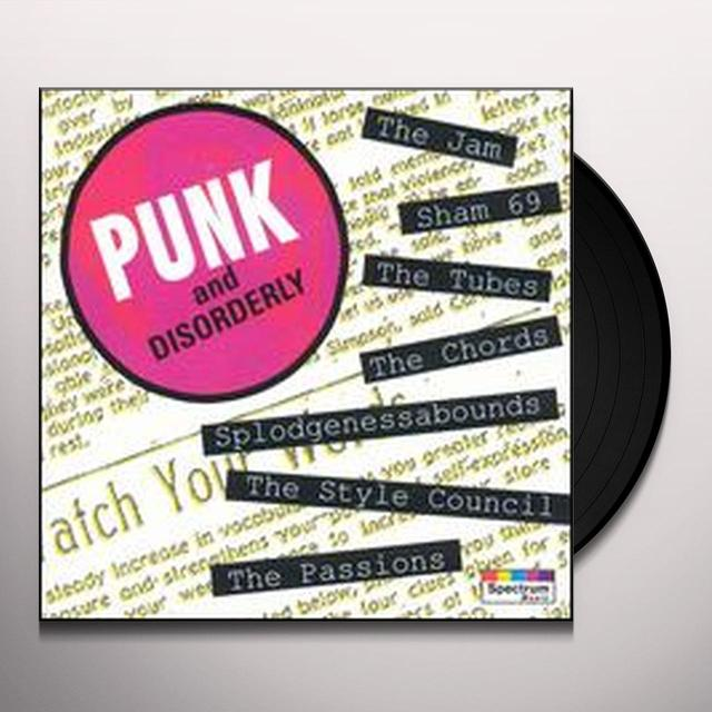 PUNK & DISORDERLY 1 / VARIOUS Vinyl Record