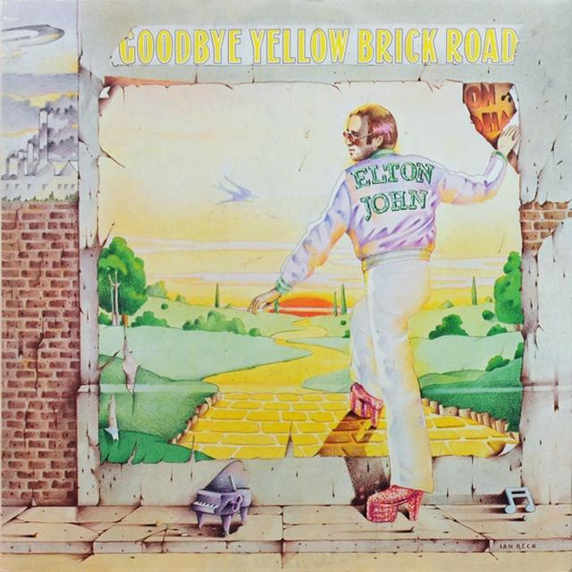 Elton John GOODBYE YELLOW BRICK ROAD (Vinyl)