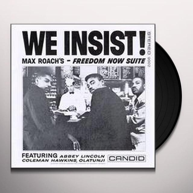 WE INSIST MAX ROACH'S: FREEDOM NOW SUITE Vinyl Record