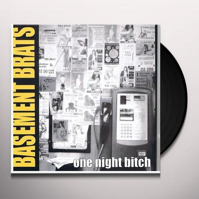 Basement Brats ONE NIGHT BITCH Vinyl Record