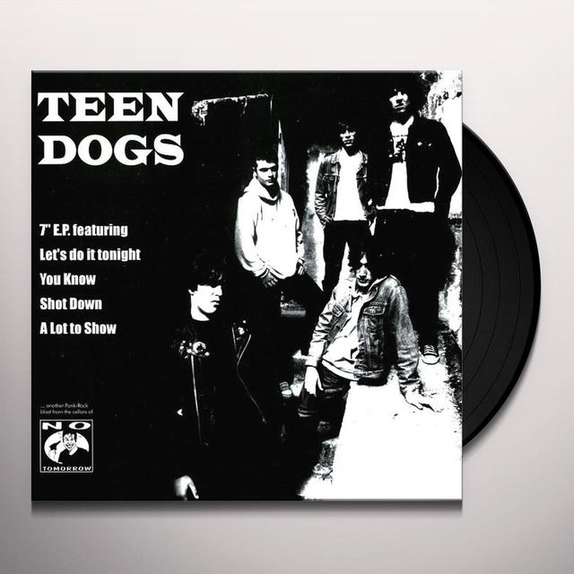 TEEN DOGS Vinyl Record