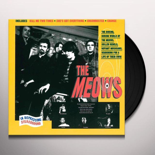MEOWS Vinyl Record
