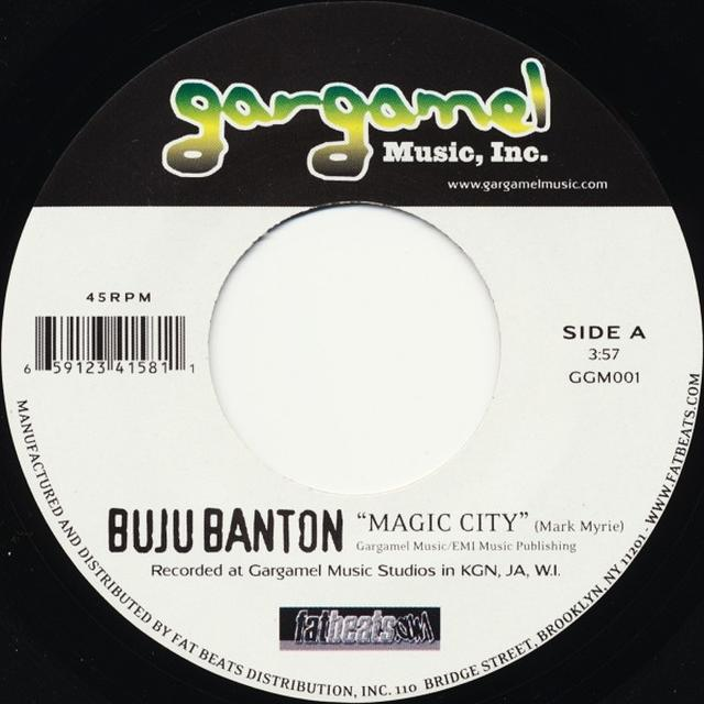 Buju Banton MAGIC CITY Vinyl Record