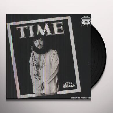 Larry Nozero TIME Vinyl Record