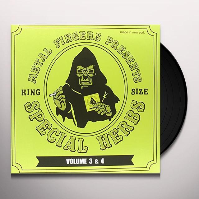 Mf Doom SPECIAL HERBS 3 & 4 (WSV) Vinyl Record