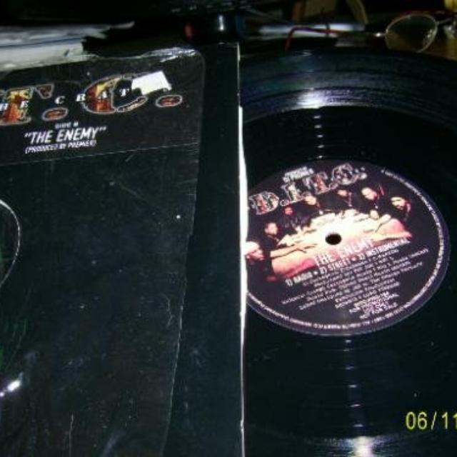 Nottz Raw X Asher Roth RAWTH EP Vinyl Record