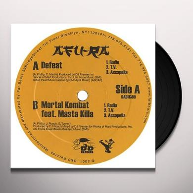Afu-Ra DEFEAT / MORTAL KOMBAT Vinyl Record