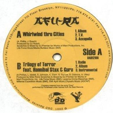 Afu-Ra WHIRLWIND THRU CITIES Vinyl Record