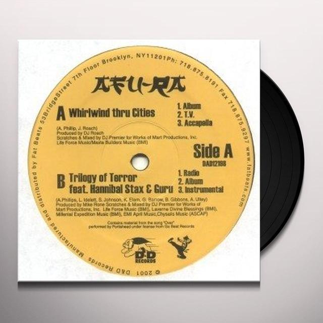 Afu-Ra WHIRLWIND THRU CITIES Vinyl Record