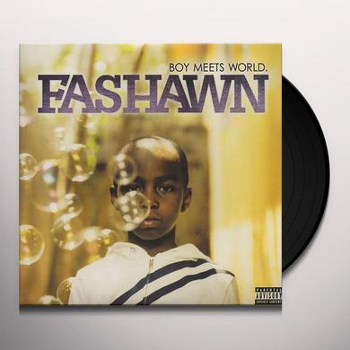 Fashawn BOY MEETS WORLD Vinyl Record