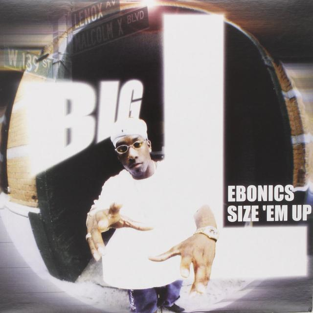 Big L EBONICS / SIZE EM UP Vinyl Record