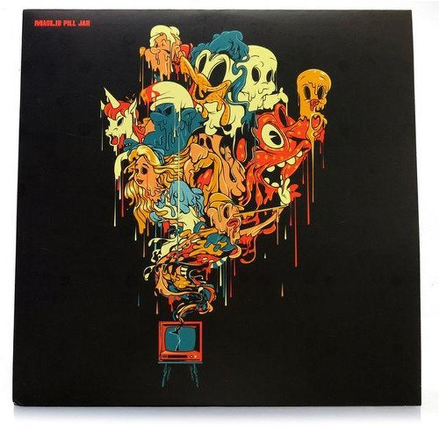 Madlib PILL JAR Vinyl Record