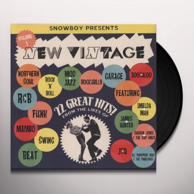 SNOWBOY PRESENTS NEW VINTAGE / VARIOUS Vinyl Record