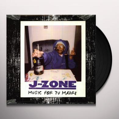J-Zone ZONE PRESENTS MUSIC TU MAD Vinyl Record