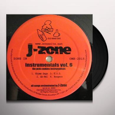 J-Zone PINK COOKIES INSTR Vinyl Record