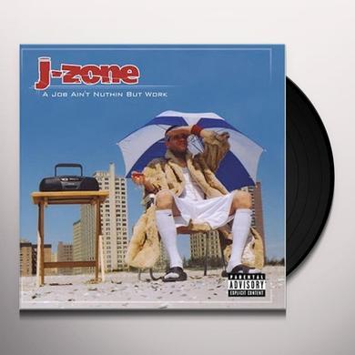 J-Zone JOB INSTRUMENTALS Vinyl Record