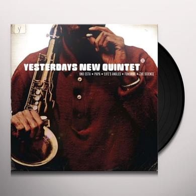 Yesterdys New Quntet UNO ESTA Vinyl Record