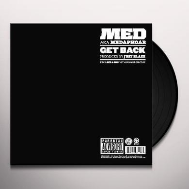 Medaphor GET BACK Vinyl Record