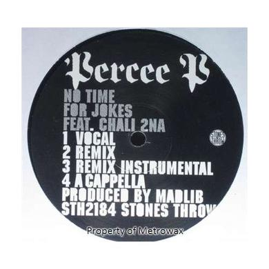 Percee P NO TIME FOR JOKES Vinyl Record