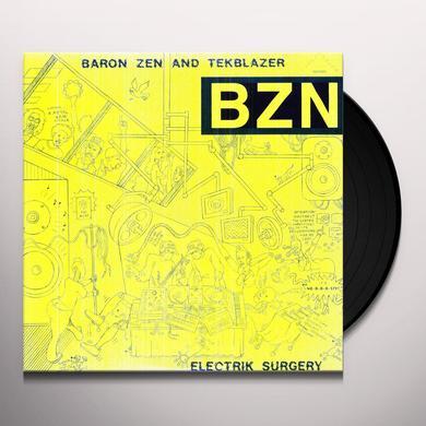 Baron Zen & Tekblazer ELECTRIK SURGERY Vinyl Record