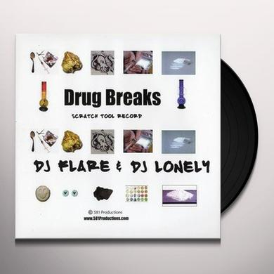 Dj Flare & Dj Lonely DRUG BREAKS Vinyl Record