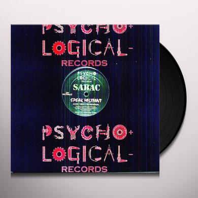 Sabac ORGANIZE Vinyl Record