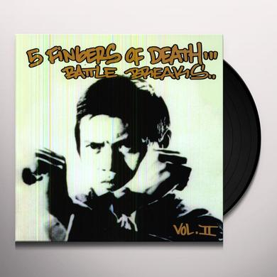 FIVE FINGERS OF DEATH 2 Vinyl Record
