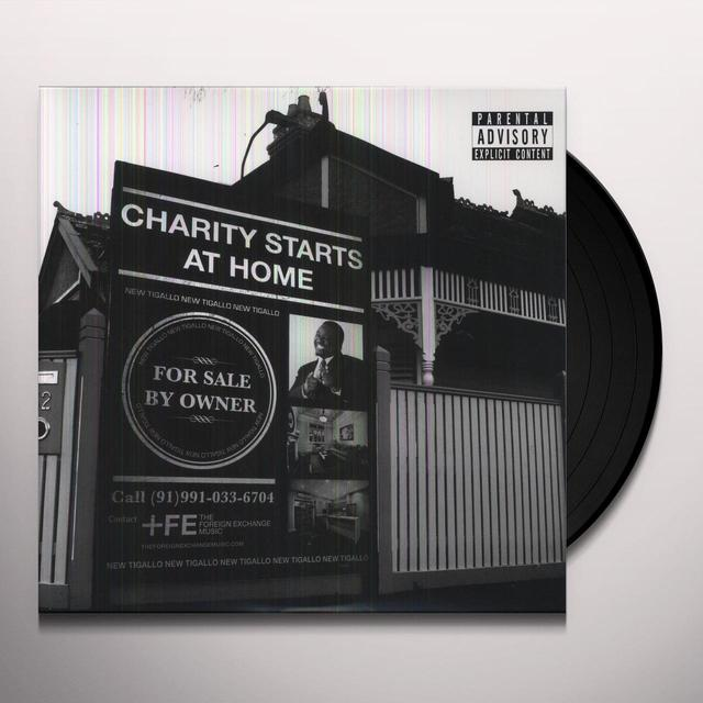 Phonte CHARITY STARTS AT HOME Vinyl Record