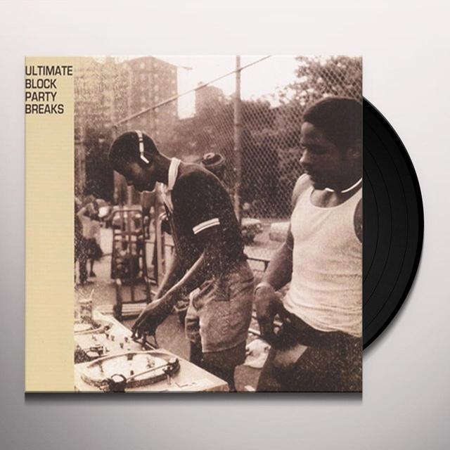 ULTIMATE BLOCK PARTY BREAKS Vinyl Record