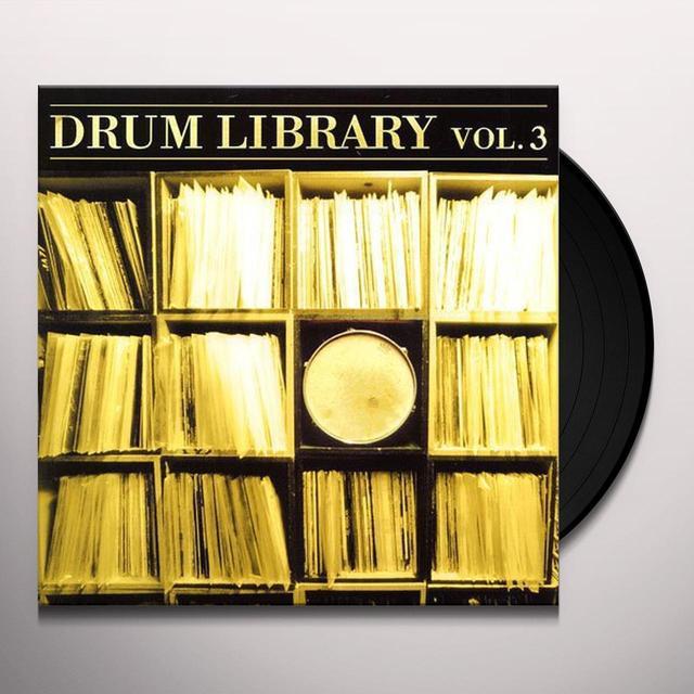 Paul Nice DRUM LIBRARY 3 Vinyl Record