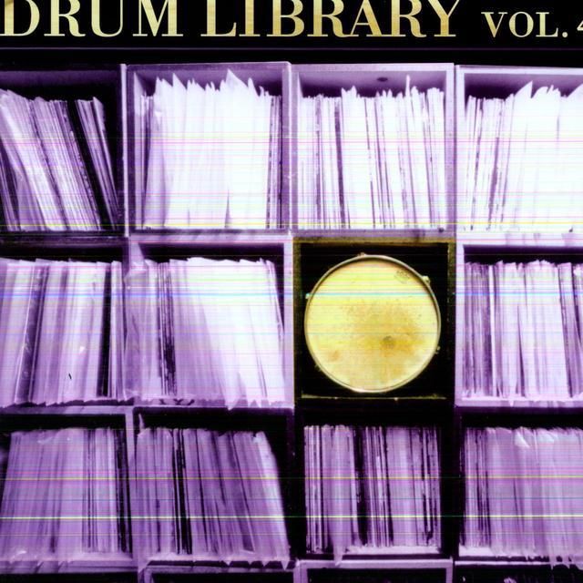 Paul Nice DRUM LIBRARY 4 Vinyl Record