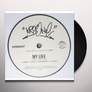 Krs-One MY LIFE Vinyl Record