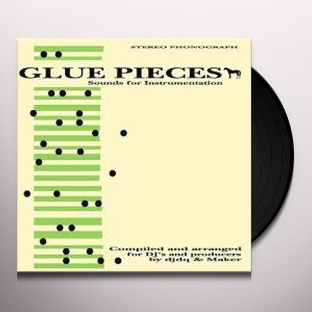 Djdq & Maker GLUE PIECES 1 Vinyl Record