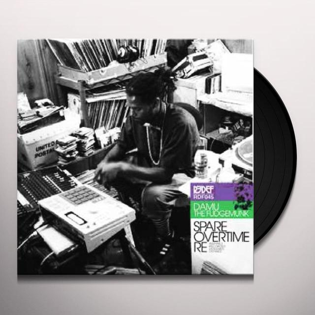Damu The Fudgemunk SPARE OVERTIME (Vinyl)