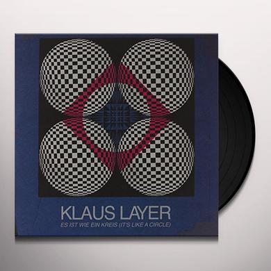Klaus Layer IST WIE EIN KREIS Vinyl Record