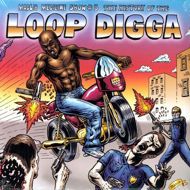 Madlib HISTORY OF THE LOOP DIGGA 1990 Vinyl Record