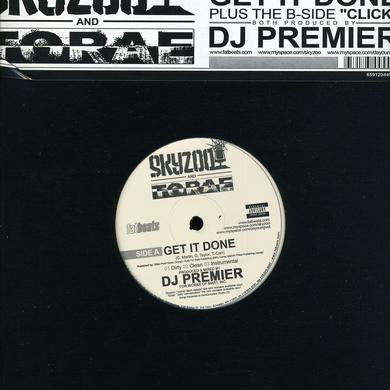 Skyzoo / Dj Premier GET IT Vinyl Record