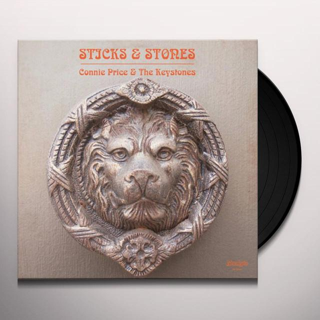 Connie Price STICKS & STONES Vinyl Record