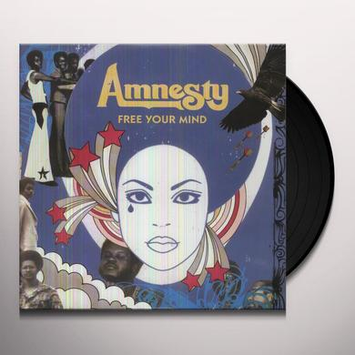 Amnesty FREE YOUR MIND Vinyl Record