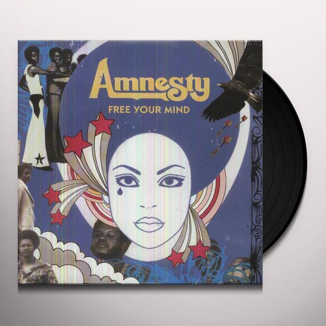 Amnesty FREE YOUR MIND Vinyl Record