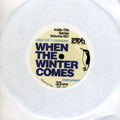 Damu The Fudgemunk WHEN THE WINTER COMES Vinyl Record