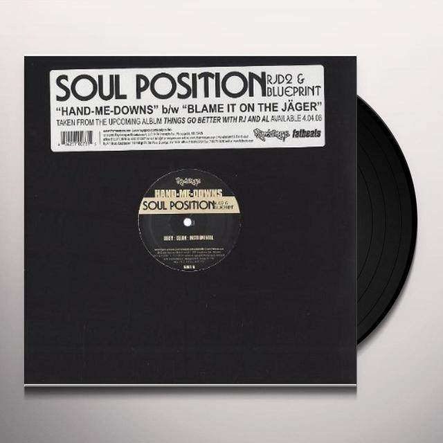 Soul Position HAND ME DOWNS Vinyl Record