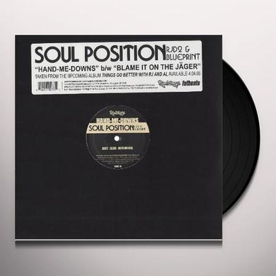 Soul Position HAND ME DOWNS Vinyl Record