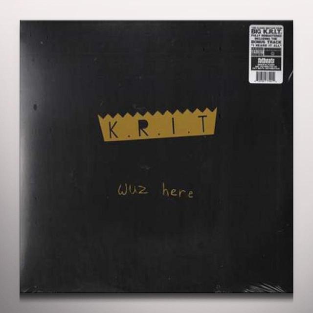 Big K.R.I.T. KRIT WUZ HERE Vinyl Record - Colored Vinyl, Gold Vinyl