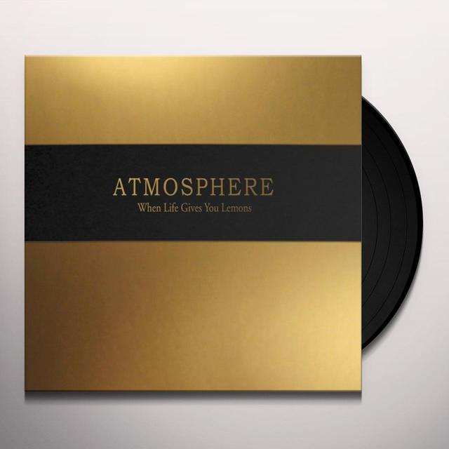 Atmosphere WHEN LIFE GIVES YOU A LEMON YOU PAINT THAT SHIT Vinyl Record
