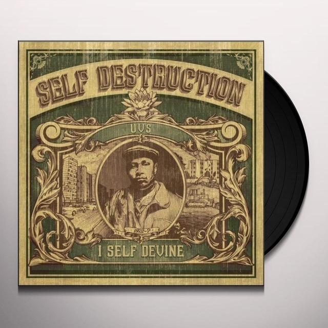 I Self Devine SELF DESTRUCTION Vinyl Record